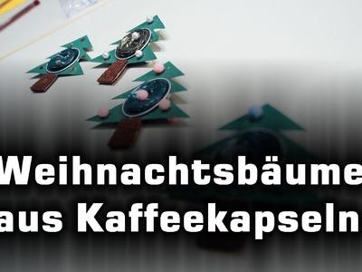 Christbaum aus Nespresso-Kapseln basteln