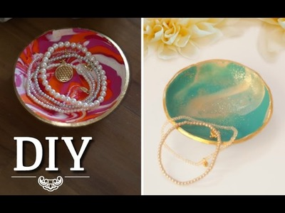 DIY: Hübsche Deko-Schalen aus Fimo selber machen | Deko Kitchen