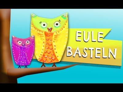 Eule aus Salzteig - Tobilotta Serie 1.6
