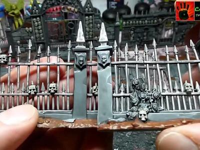 Let´s paint: Morrs Garten Bemalung Teil 4 - weitere Details (Warhammer Geländestück)
