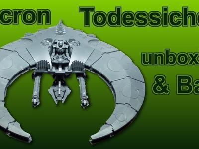 Lets paint Minis # 14 - Unboxing und Bau Tutorial Necron Todessichel - Anfägner geeignet
