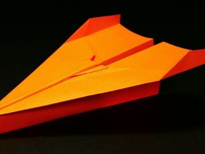 Papierflieger falten - Basteln - Papier falten - Beste Papierflieger der Welt - Rekord | Teresa