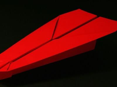 Papierflieger falten - Basteln - Papier falten - Beste Papierflieger der Welt - Rekord | Mayhem