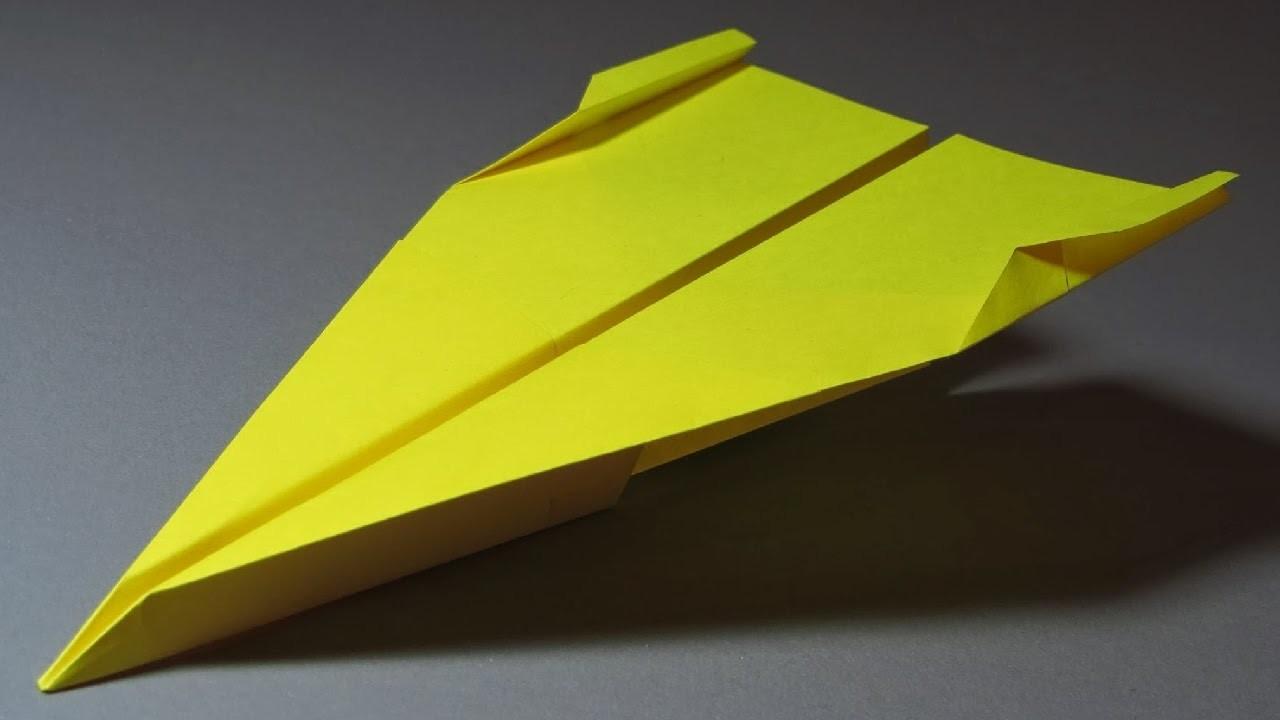 Papierflieger falten - Basteln - Papier falten - Beste Papierflieger der Welt - Rekord | La Haine