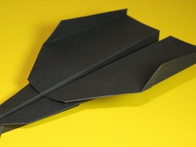 Papierflieger falten - Basteln - Papier falten - Beste Papierflieger der Welt - Rekord | Des