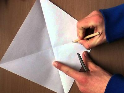 Windrad aus Papier basteln - so geht's