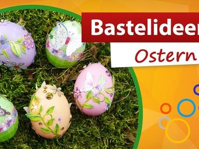 Bastelideen Ostern - Ostereier verzieren | trendmarkt24 - kostenlose Bastelidee