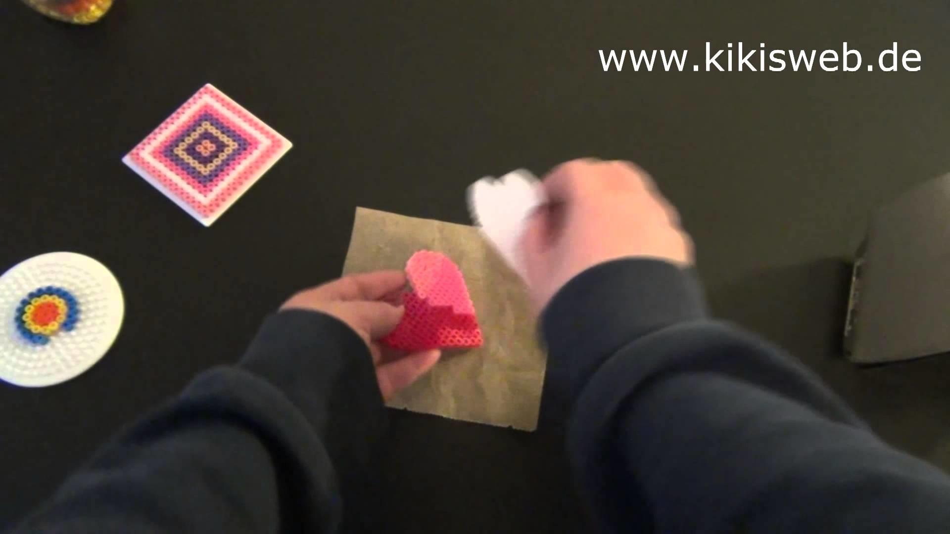 Basteln: Bügelperlen Anleitung