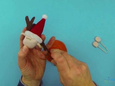 Basteln für Weihnachten - Tollen Elch basteln