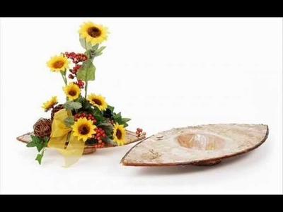 Blumengestecke Hochzeit selber basteln. Tisch - Blumendeko selbst machen
