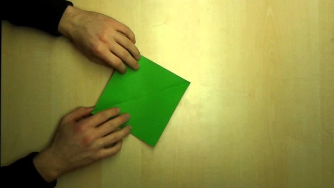 Briefumschlag falten - Kuvert basteln