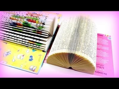 DIY Bastelideen - Basteln mit Büchern - DIY Ideen deutsch - Tutorial
