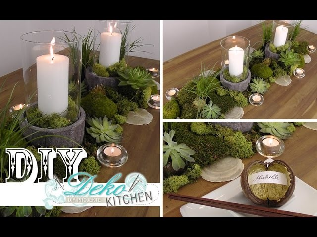 DIY: Coole Tischdeko im Naturlook selber machen | Deko Kitchen
