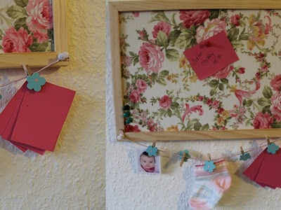 DIY Dekorative Pinnwand selber machen Anleitung
