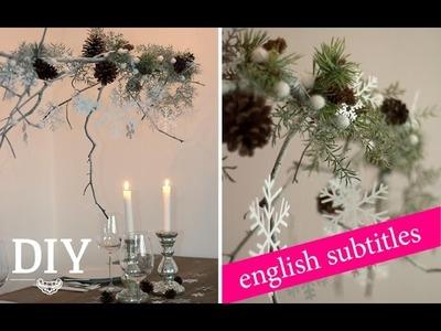 DIY: Großen weihnachtlichen Zweig dekorieren | Deko Kitchen