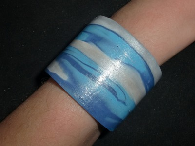 Flexibles Armband: Fimo wristlet - Modellieranleitung [HD.deutsch] (EN-Sub)