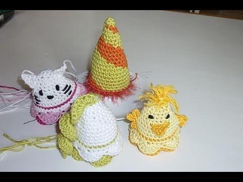 Häkeln für Ostern * Eiermützchen * Eierwärmer