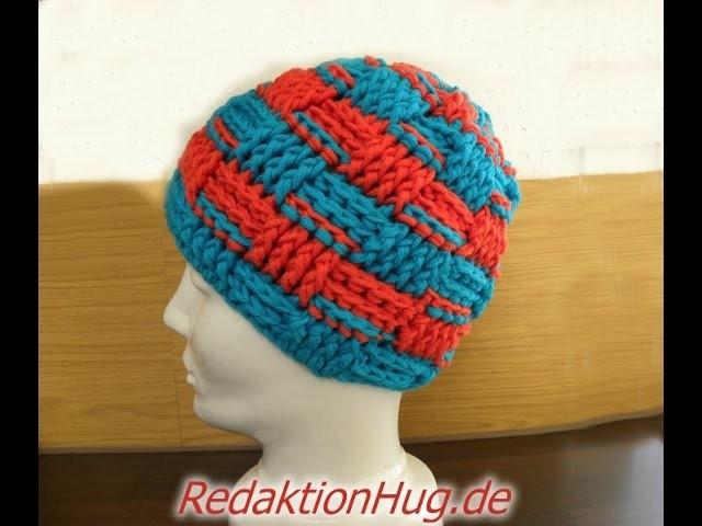 Häkeln - Mütze Reliefstäbchen Häkelmütze aus hatnut-Wolle - Veronika Hug