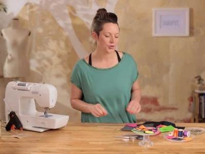 Intro: DIY Last Minute Geschenk: Broschen aus Filz nähen und basteln