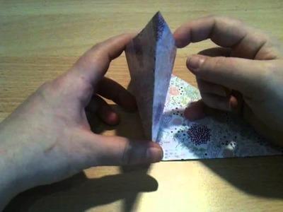 Origamischachtel selber machen - Papierbox basteln