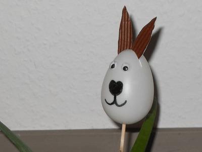 Ostern: Blumenstecker Osterhase