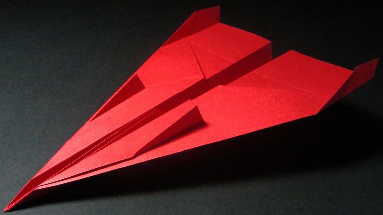 Papierflieger falten - Basteln - Papier falten - Beste Papierflieger der Welt - Rekord | Video Games