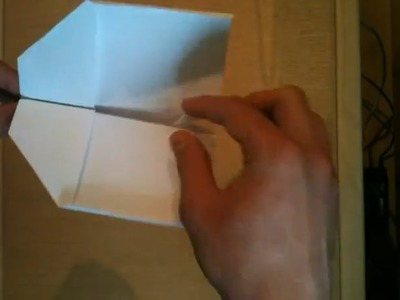 Schwalbe (Papier Flieger) Bauanleitung