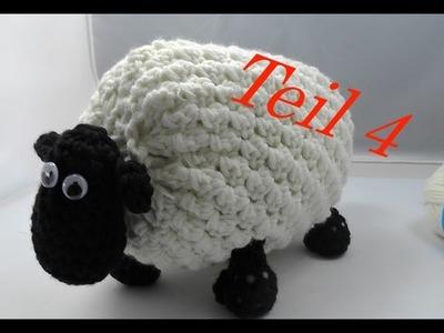 SHIRLEY von SHAUN das Schaf Häkeln mit Veronika Hug - Teil 4 Bauch