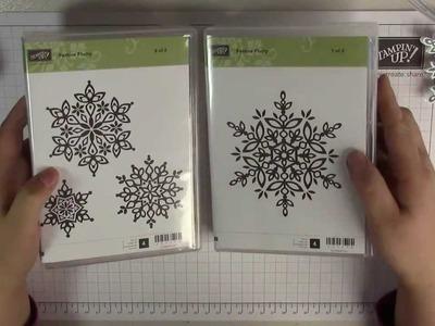 Tutorial: Schneeflocke basteln - Stempelset Festive Flurry von Stampin' Up!