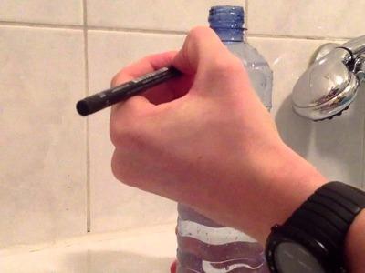 Wasseruhr selber machen - Wasseruhr selbst basteln