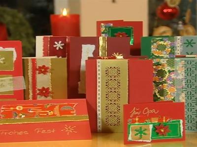 Weihnachtsdeko: Weihnachtsgeschenke einpacken und Karten basteln | ToolTown