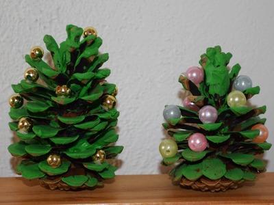 Zapfen-Weihnachtsbaum