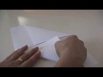 Anleitung - Briefumschlag selber falten