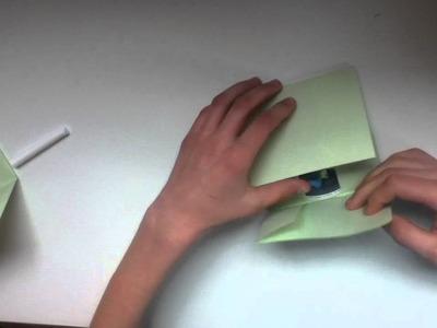 Anleitung: CD Hülle aus Papier falten - CD Hülle aus Papier falten Tutorial
