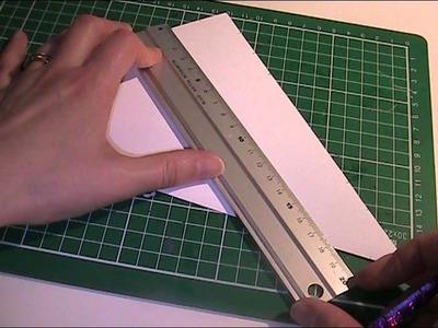 Anleitung und Vorlage - Papiergirlande basteln