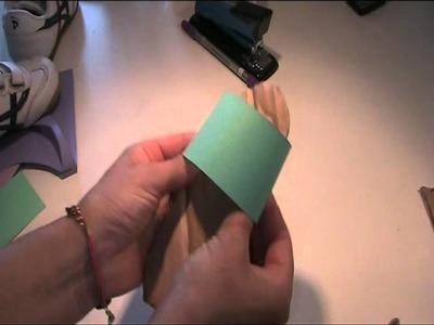 Anleitung und Vorlage - Sandalen aus Pappe basteln