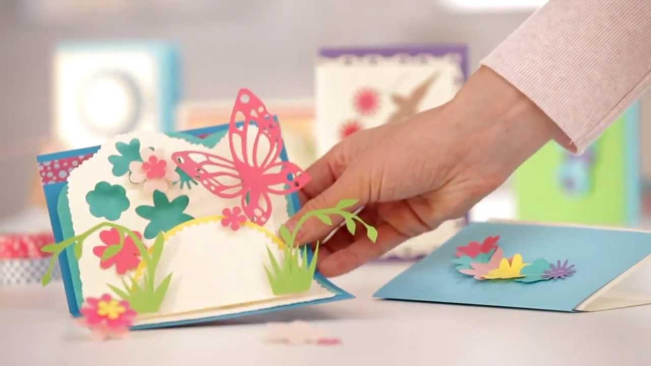 Einladungskarten Selbst Gestalten So Einfach Geht S: 3-D Karten Selbstgemacht. So Einfach