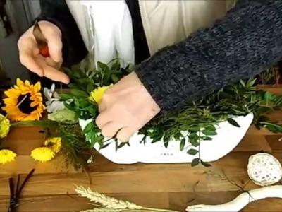 Dekorart Deko und Geschenkideen Gesteck aus Blumen Basteln Wohnen Deko und Geschenke