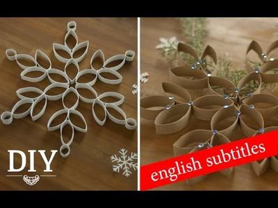 DIY: Tolle Weihnachtssterne aus Küchenrollen | Deko Kitchen