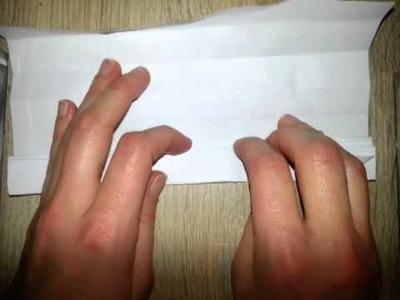 Fächer aus Papier basteln