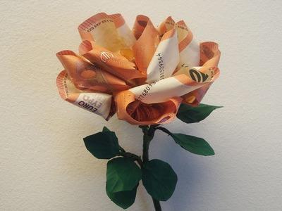 Geld falten ❁ Geldgeschenk basteln ❁ Deko Ideen mit Flora-Shop