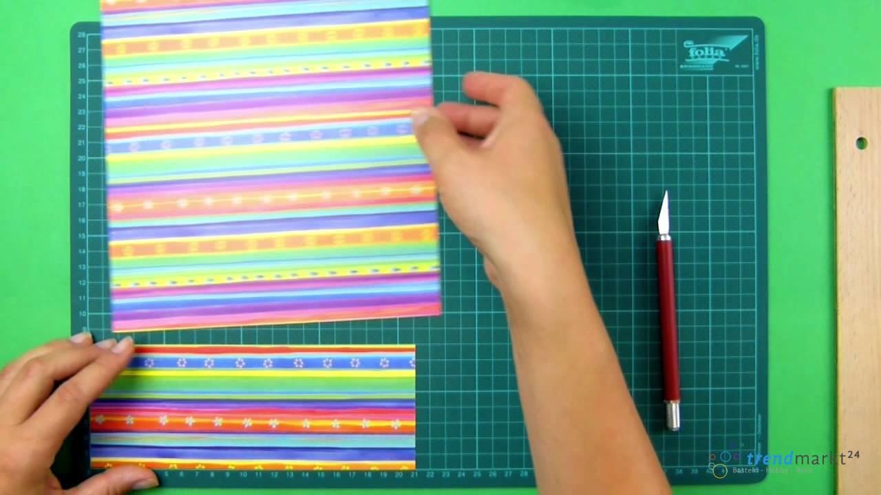 Grußkarten selbst basteln aus Papier