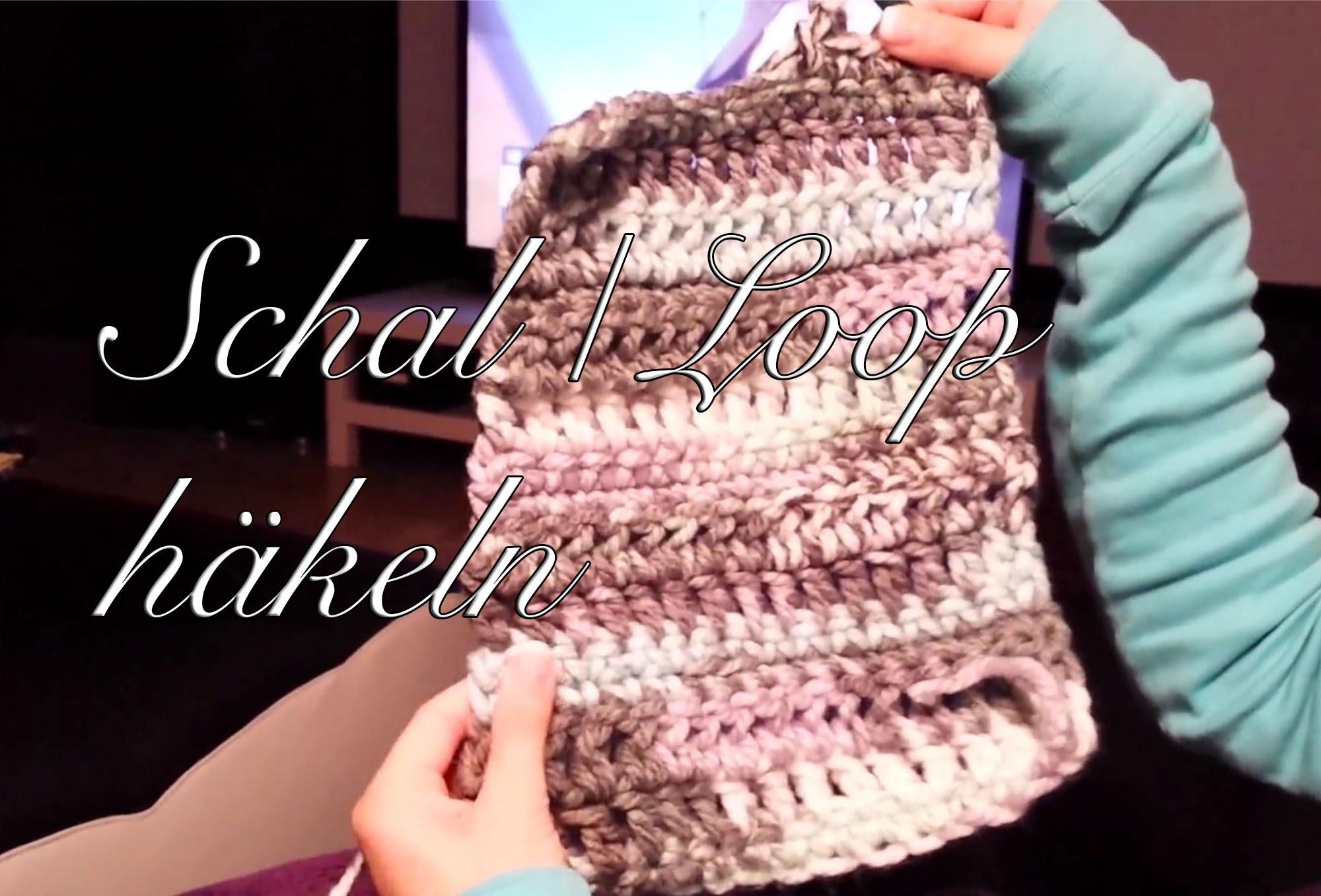 Häkelkurs - Schal oder Loop häkeln mit dicker Wolle