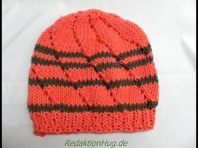 Knooking - Mütze hatnut surf - Veronika Hug