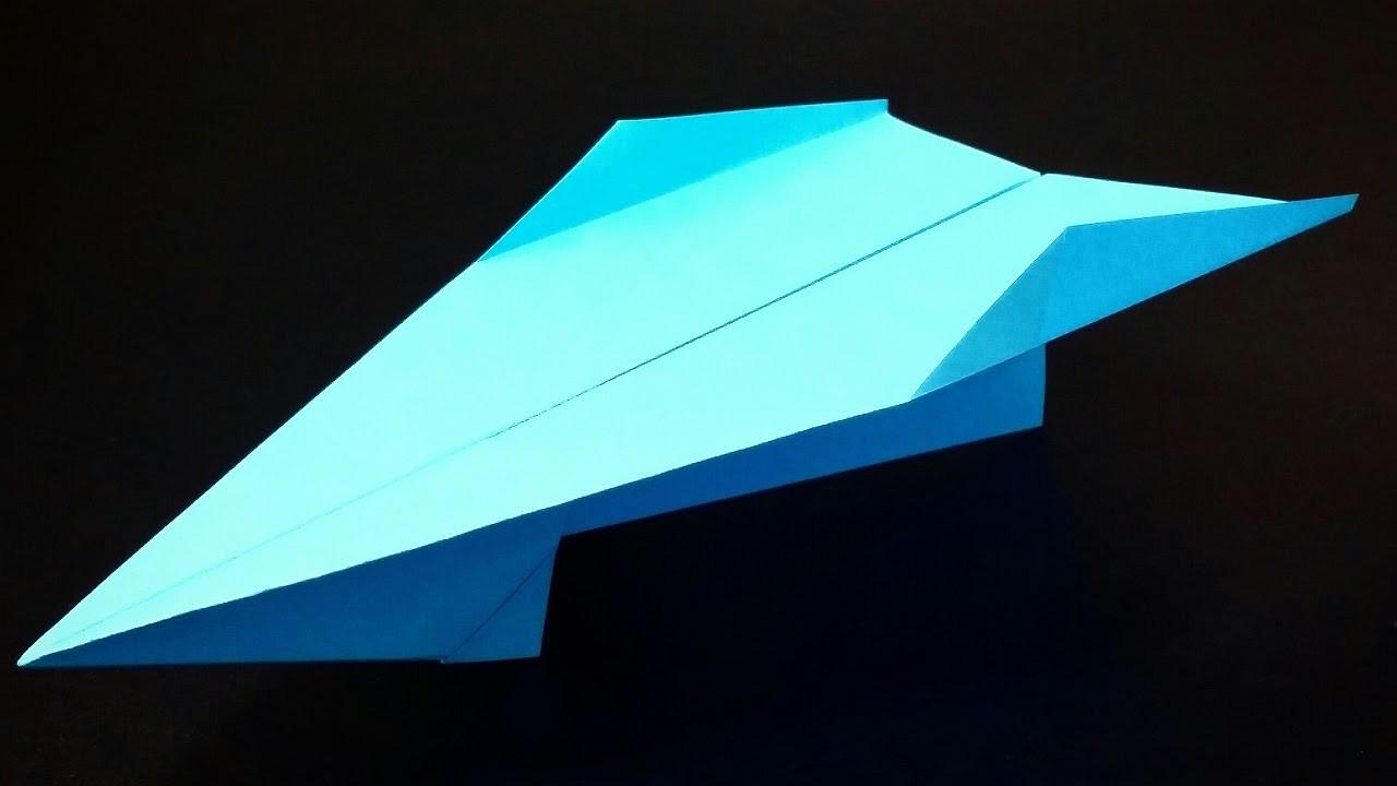 Papierflieger falten - Basteln - Papier falten - Beste Papierflieger der Welt - Rekord | Snowpiercer
