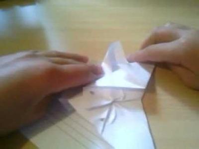 Papierflieger in Düsenjetform basteln. Papier Düsenjäger Anleitung