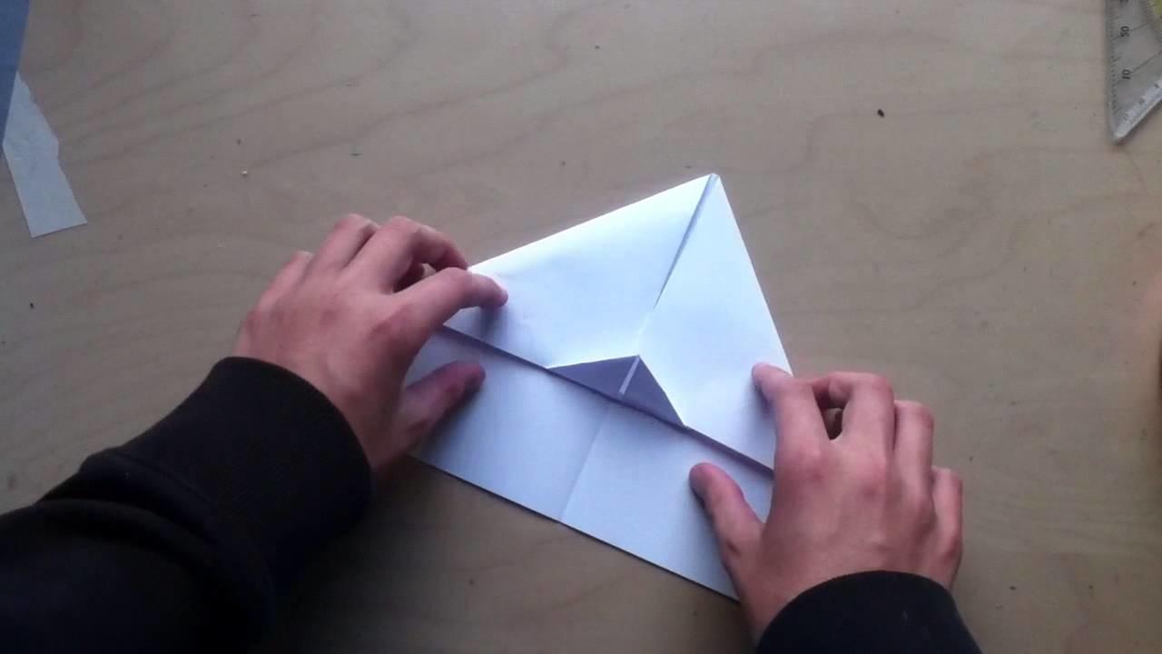 Papierflieger selbst basteln - Flugzeuge aus Papier falten