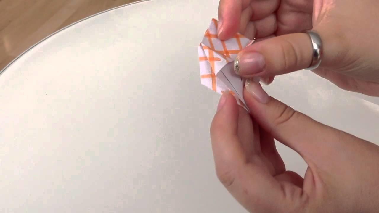 Papierkörbchen basteln - Körbchen basteln aus Papier. Bastelanleitung