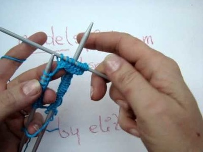 Stricklehrgang 6 - Maschenanschlag Nadelspiel