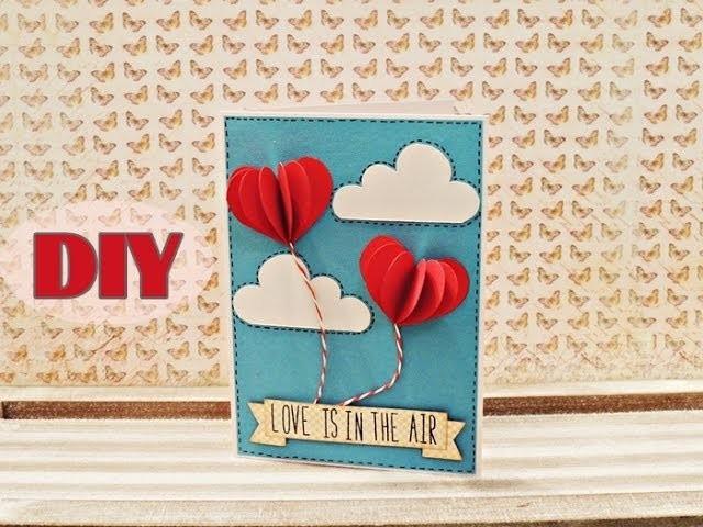 Valentinstagskarten selber basteln #4 - Valentine's Day Cards #4 - DIY